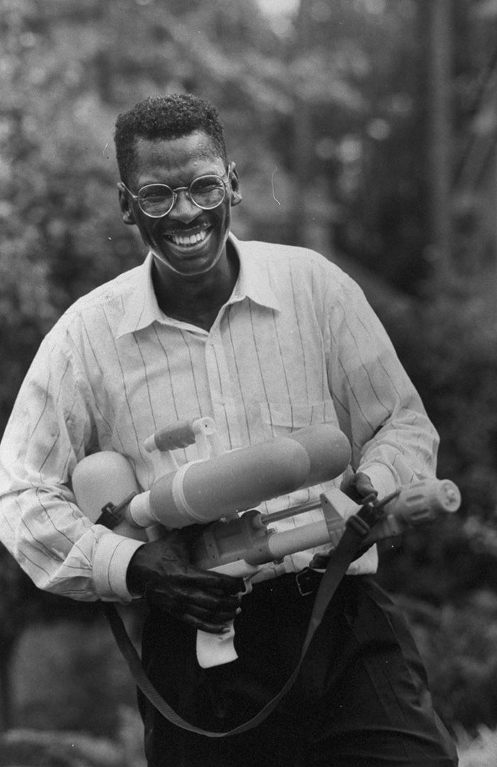 Meet the guy who Accidentally Invented the Super Soaker While Working for NASA