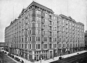The Palace Hotel in downtown San Francisco (1895)