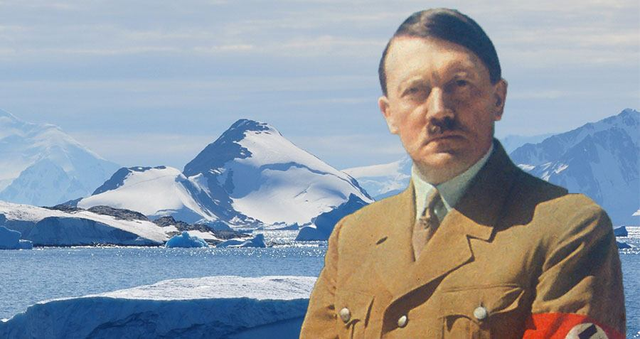Secret Nazi Base Just Found All The Way In The Arctic