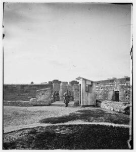 Castillo de San Marcos, Civil War era.