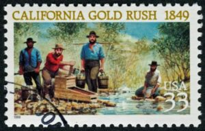 California Gold Rush Stamp