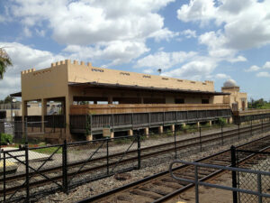Seaboard Air Line Train Station.