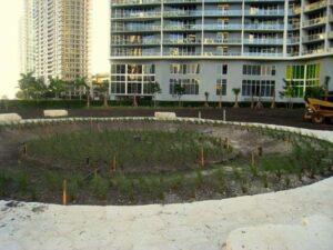 Miami Circle, Miami, Florida, USA.