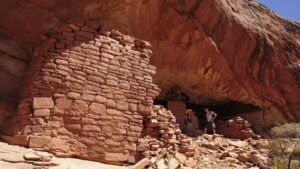 Archaeologists and students from Poland's Jagiellonian University and local volunteers have studied the cliff dwellings and rock art at Castle Rock Pueblo since 2011.