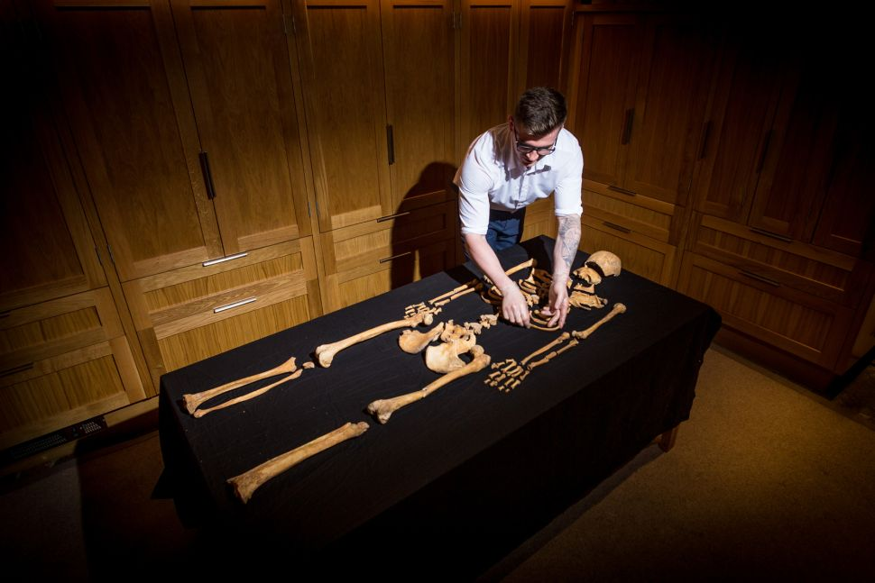 Mysterious Skeletons of Woman and Girl Discovered in Lost Tower of London Chapel
