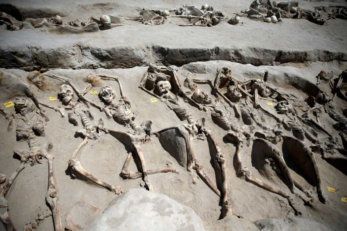 80 Shackled Skeletons Found in Greek Grave After Ancient Mass Execution