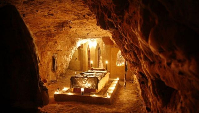 Chislehurst Caves are a series of intersecting man-made tunnels and caverns covering some 22 miles (35 km) in London