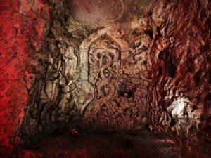 Chislehurst Caves art Sculpture