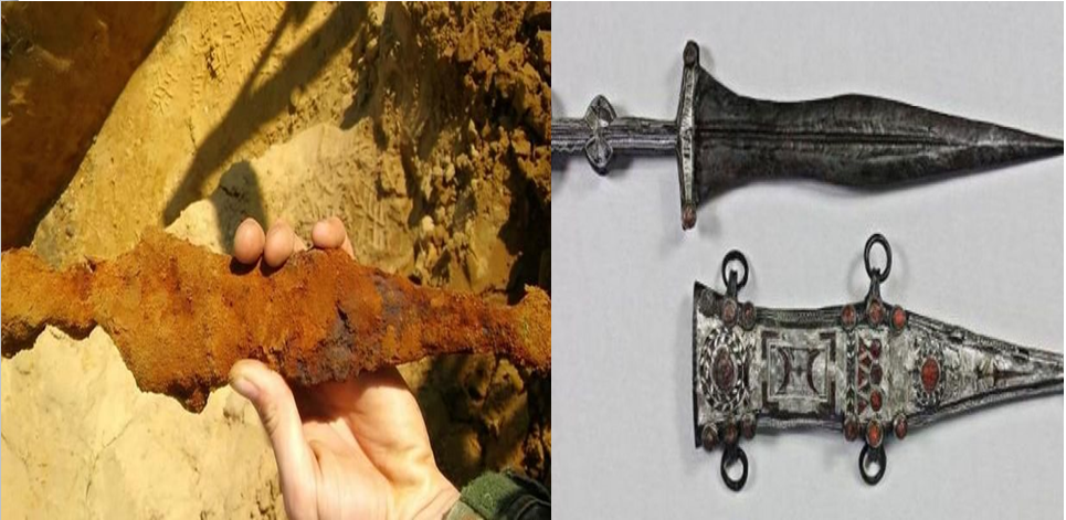 Archaeology Intern Unearths Spectacular, 2,000-Year-Old Roman Dagger