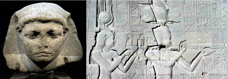 Meet Caesarion-son of Cleopatra and Julius Caesar, the last pharaoh of egypt.
