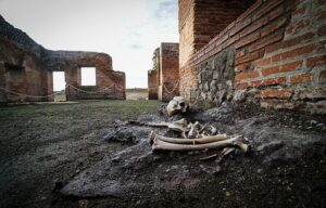 The central baths were opened to modern-day visitors to the famous ancient Roman town