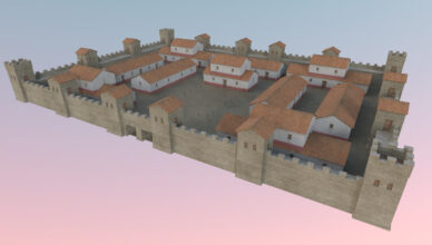 Roman fort discovered under Exeter bus station development