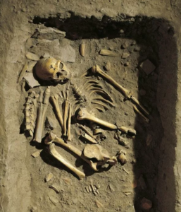 Ancient graves: Neolithic graves usually contain items that gives clues of the deceased's identity