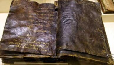 1,500 Year old Bible re-writing thecontroversialHistory of Jesus