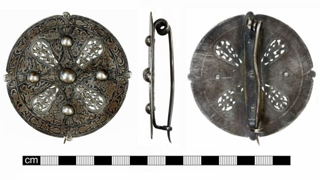 Effectively-Preserved Medieval Brooch Found in England