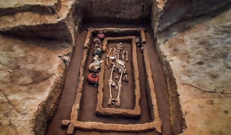 Incredible graveyard of 5000-year-old 'giants' found in China
