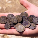 Cache of Hasmonean-era silver coins uncovered in Modiin