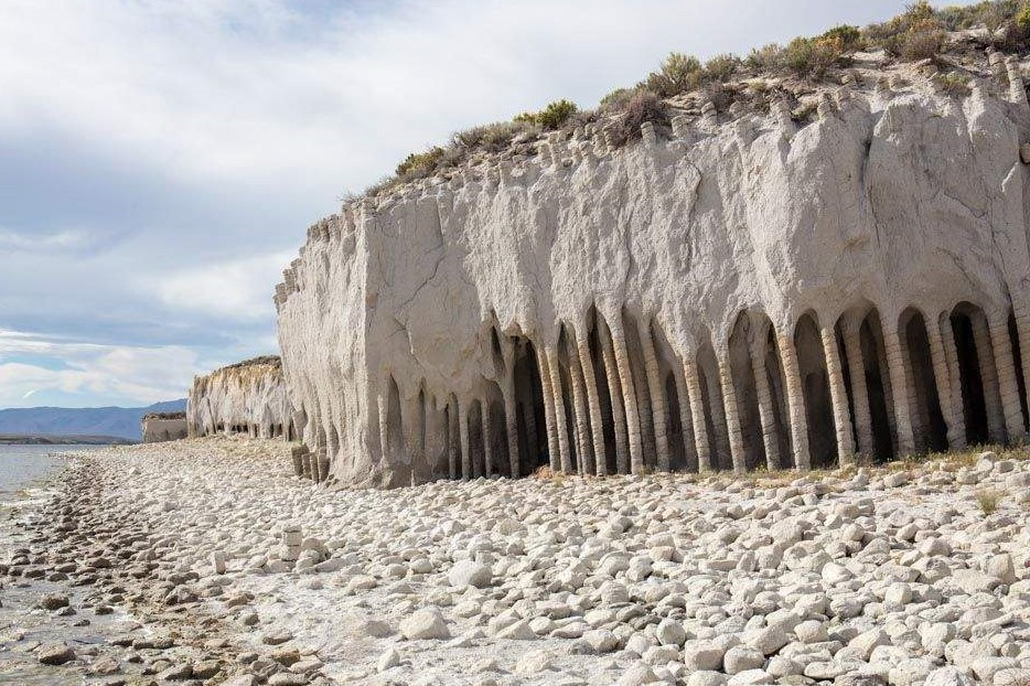 Crowley Lake Columns: Strange Eastern side Lake Formations