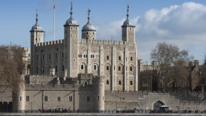 1000 years old tower of London, England