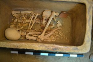 Two Minoan men were buried in the Crete tomb roughly 3,400 years ago