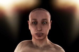 A digital representation of what Tutankhamun may have looked like