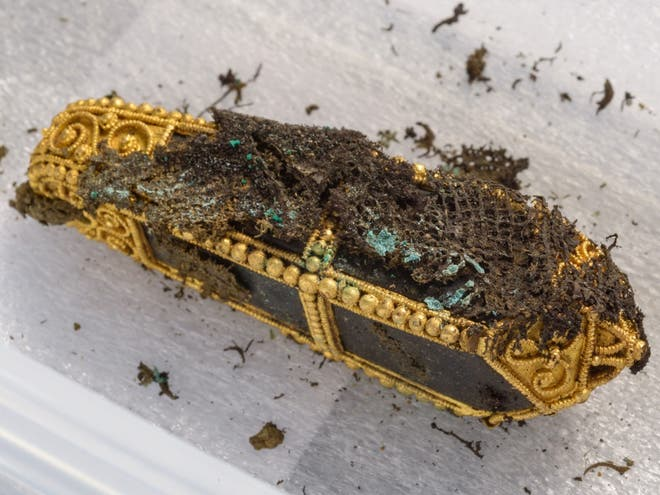 1000-years-old Viking treasure hoard discovered in Scotland