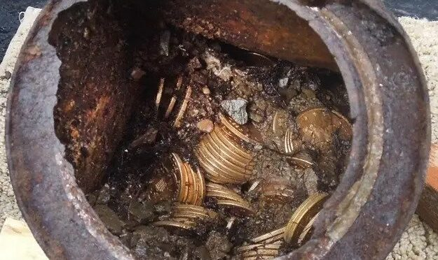 A California Couple Found $10 Million In Gold Coins In Their Backyard