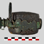 "A Roman ""laguncula"" (water bottle) of the 4th century AD discovered in France"