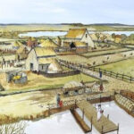 Roman settlement was found in Cambridgeshire, England
