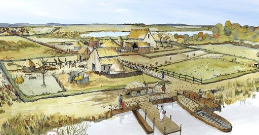 Roman settlement was found in Cambridgeshire, England