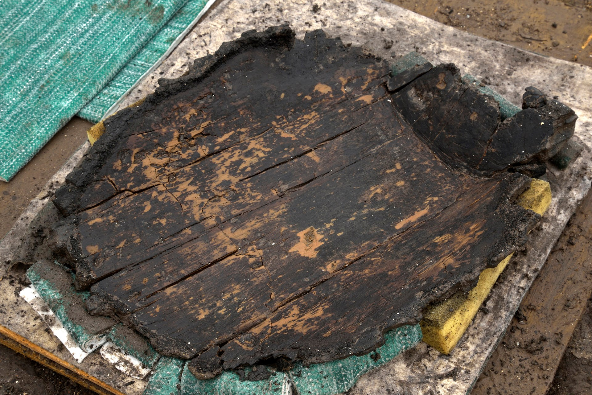 3,000-Year - old wooden wheel discovered in Doomed Bronze Age town