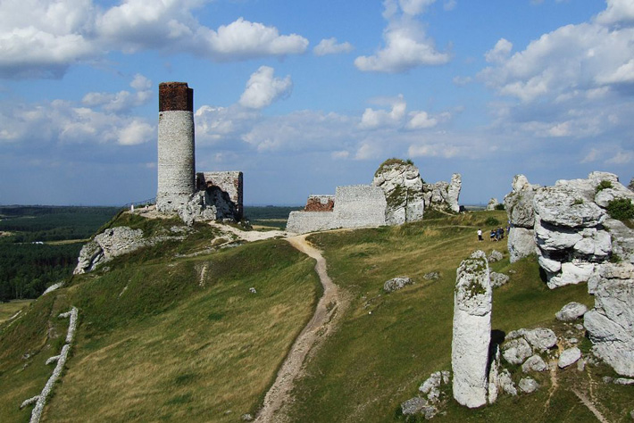 Cave and Tunnels Detected Under Castle in Poland