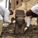 Egypt unearths rare statue of King Ramses II near Giza pyramids