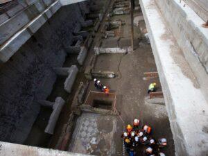 The Roman barracks at Amba Aradam