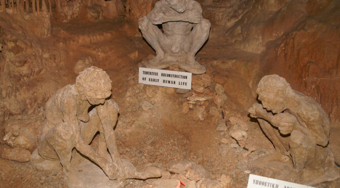 The700,000-year-oldSkullinGreekcave, completely shatters the Out of Africa theory