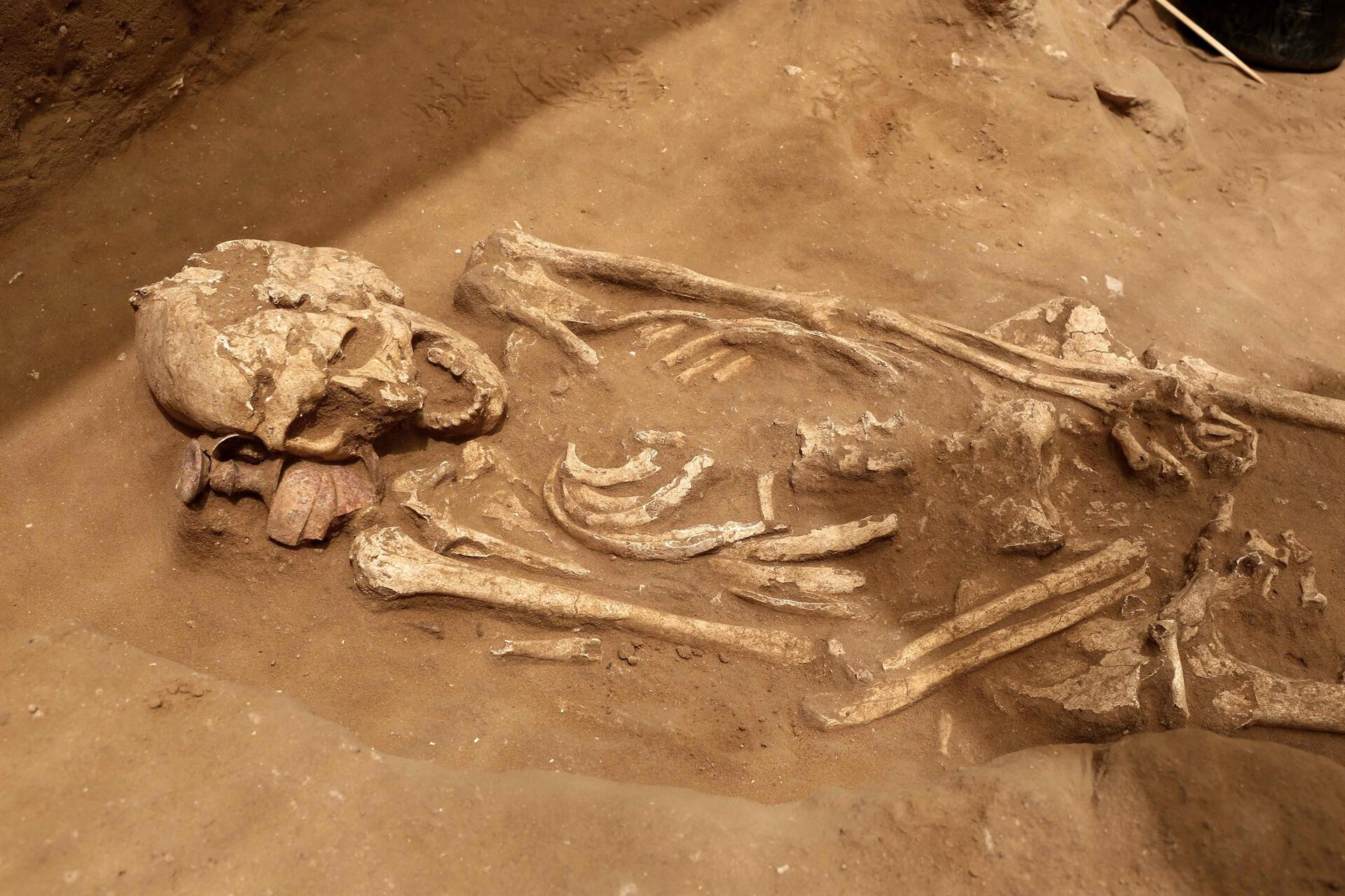 Ancient Cemetery Solves Age-old Mystery of Philistine Origin