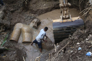 Ramses II believed that the world was created in Heliopolis, now known as Matariya, the slum where this statue was found