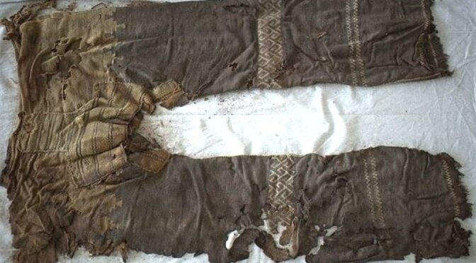 3000-Year-Old Trousers Discovered in China