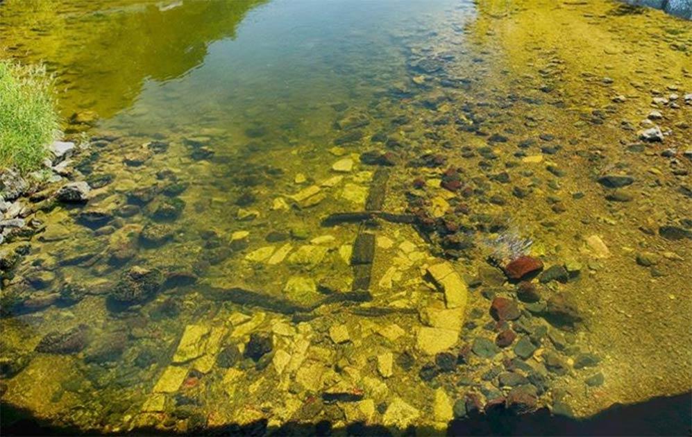 Remnants of Scotland's Oldest Surviving Bridge Found