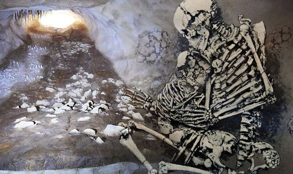 Archaeology breakthrough: Scientists discover chilling 'nest' of ancient humans in a cave