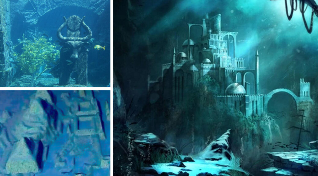 The underwater city of Cuba- is this the lost city of Atlantis