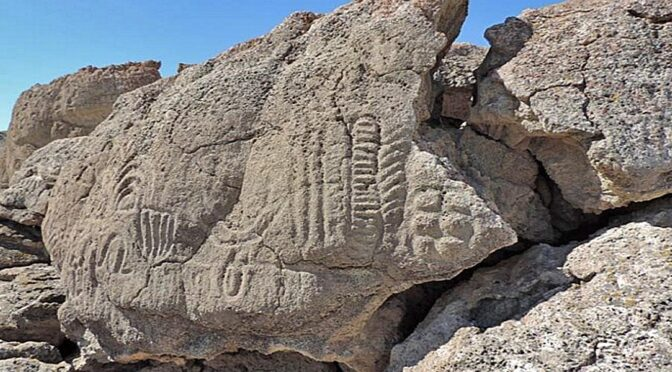 Researchers Discover 14,800 Years Old Petroglyphs, the Oldest one in U.S.A
