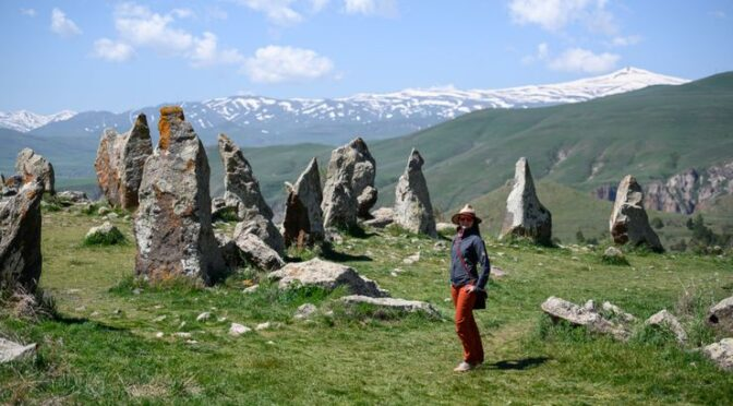 """7,500-years-old """"Armenian Stonehenge"""" discovered at Carahunge (the Armenian Stonehenge)"""