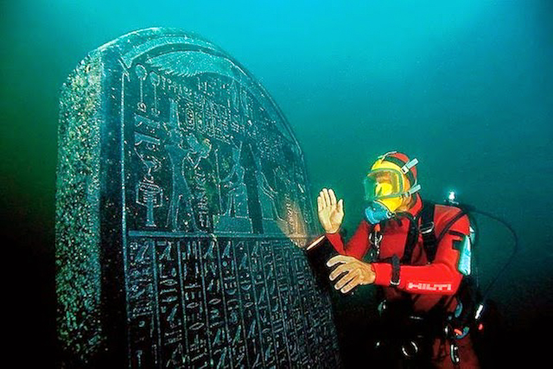 Lost Egyptian City Found Underwater After 1200 Years
