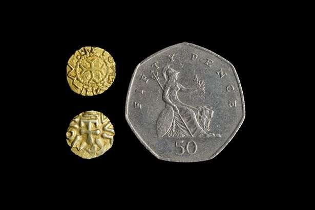 1500-year-old Anglo Saxon coins unearthed by treasure hunter in UK