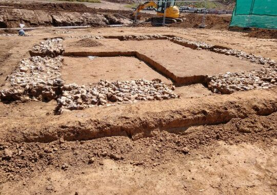 Ancient Roman Temple Unearthed Below Kent Building Site