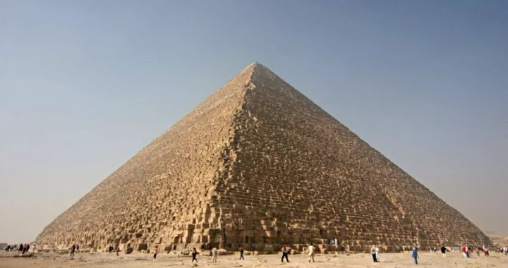 'Primitive Machine' Within Great Pyramid of Giza Reconstructed