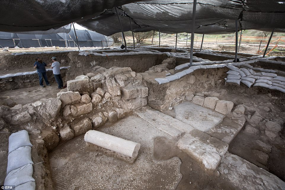 1,500-year-old 'Christ, born of Mary' inscription discovered in Israel
