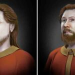 Artist Reconstructs Faces of Slavic Warriors Who Survived Nazi Attack
