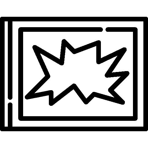 Icon of a broken property